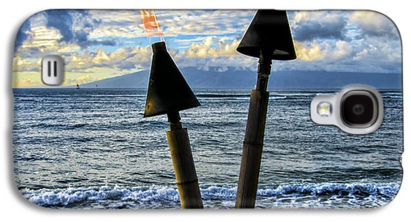 Maui Tiki Torch Galaxy S4 Case by Keith Ducker
