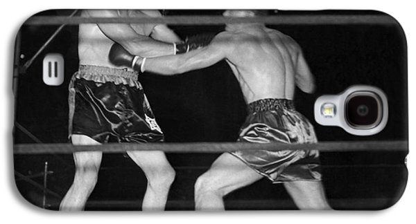Max Baer And Lou Nova Boxing Galaxy S4 Case by Underwood Archives