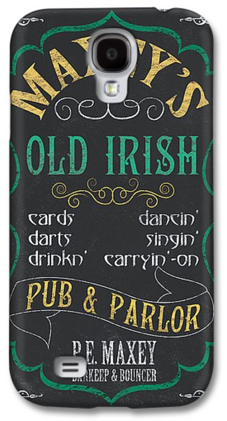 Maxey's Old Irish Pub Galaxy S4 Case by Debbie DeWitt