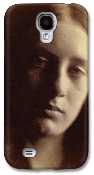 May Prinsep As St John Galaxy S4 Case by Julia Margaret Cameron