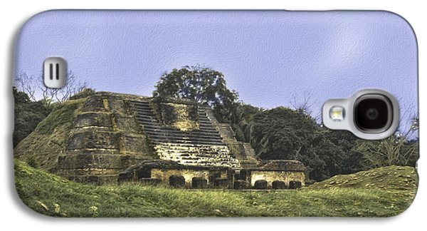Mayan Ruins In Belize Galaxy S4 Case