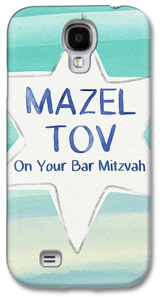 Mazel Tov On Your Bar Mitzvah-  Art By Linda Woods Galaxy S4 Case by Linda Woods