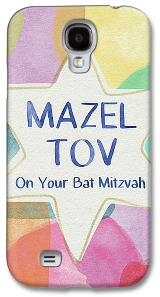 Mazel Tov On Your Bat Mitzvah- Art By Linda Woods Galaxy S4 Case by Linda Woods