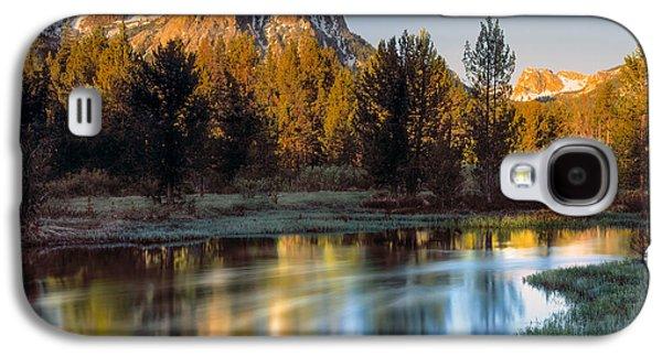 Mcgown Peak Sunrise  Galaxy S4 Case by Leland D Howard