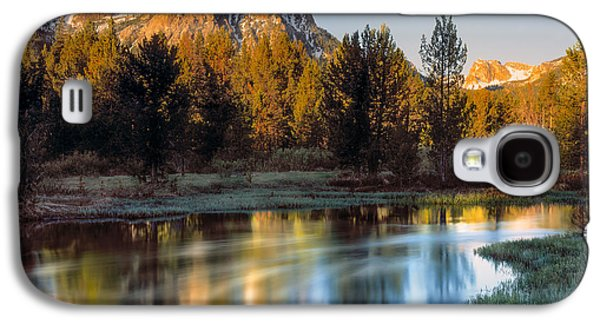 Mcgown Peak Sunrise  Galaxy S4 Case by Leland D Howard