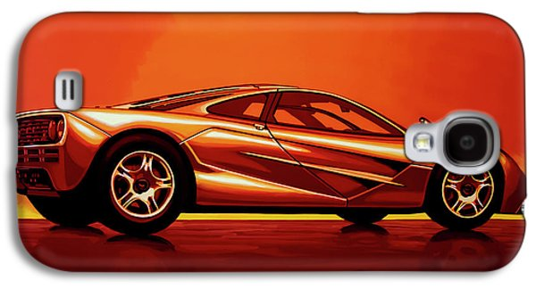 Car Galaxy S4 Case - Mclaren F1 1994 Painting by Paul Meijering