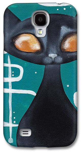 Mcm Cat Galaxy S4 Case by Abril Andrade Griffith