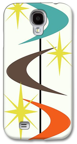 Mcm Shapes 2 Galaxy S4 Case by Donna Mibus