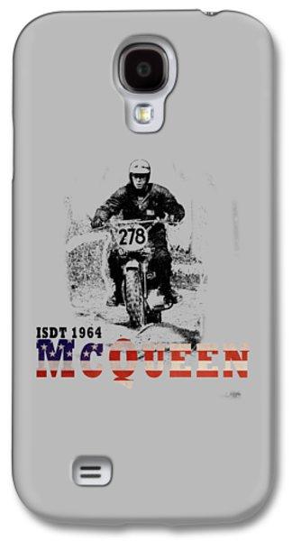 Mcqueen Isdt 1964 Galaxy S4 Case by Mark Rogan