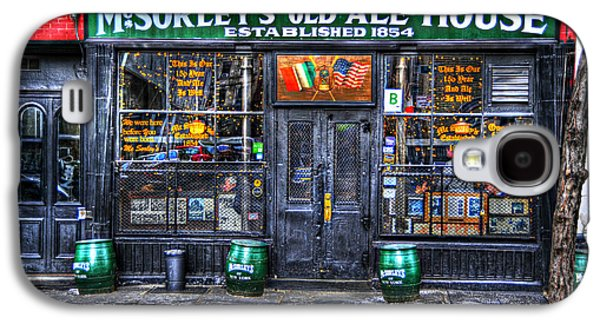 East Village Galaxy S4 Cases - McSorleys  in Color Galaxy S4 Case by Randy Aveille