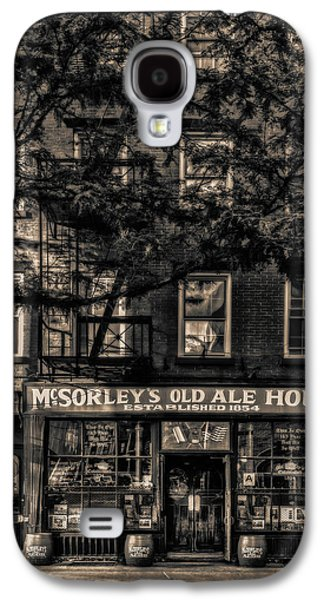 Mcsorley's Old Ale House Nyc Bw Galaxy S4 Case