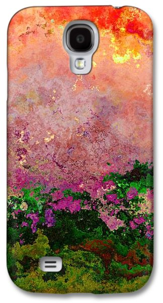 Meadow Morning Galaxy S4 Case by Wendy J St Christopher
