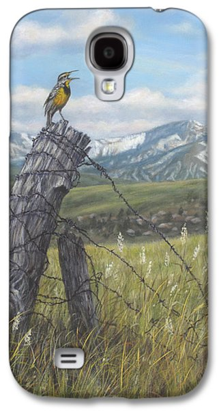Meadowlark Serenade Galaxy S4 Case by Kim Lockman