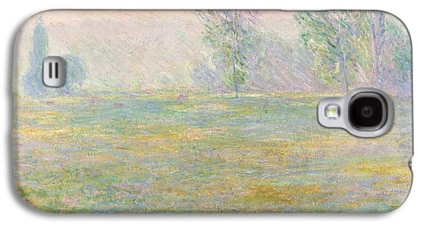 Meadows In Giverny Galaxy S4 Case by Claude Monet