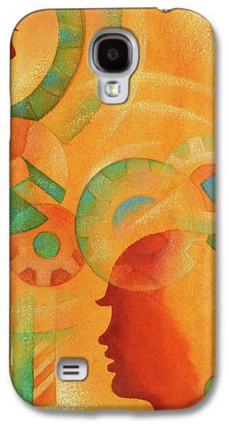 Mechanical Minds Galaxy S4 Case by Leon Zernitsky