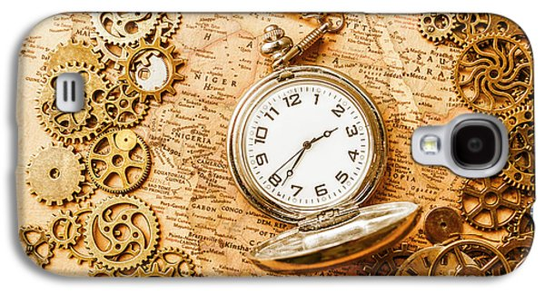 International Travel Galaxy S4 Case - Mechanisms In Industrial Time by Jorgo Photography - Wall Art Gallery