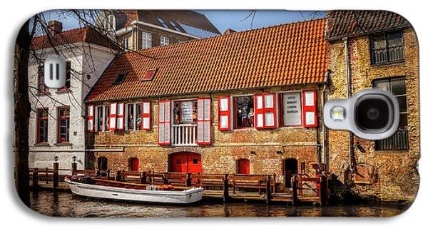 Medieval Bruges  Galaxy S4 Case
