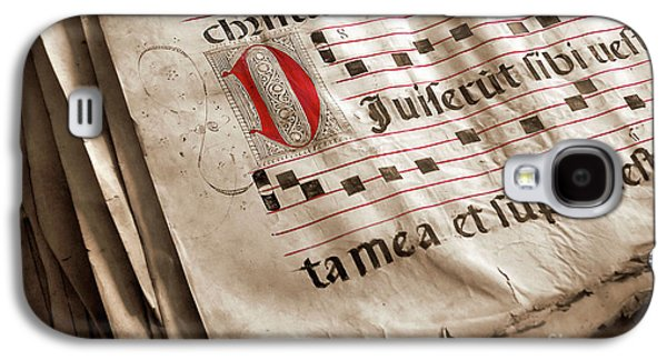 Medieval Choir Book Galaxy S4 Case by Carlos Caetano
