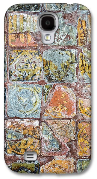 Medieval Floor Tiles Pattern Galaxy S4 Case by Tim Gainey