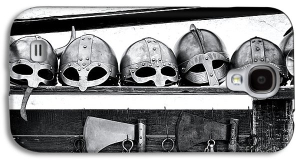 Medieval Helmets Galaxy S4 Case by Tim Gainey
