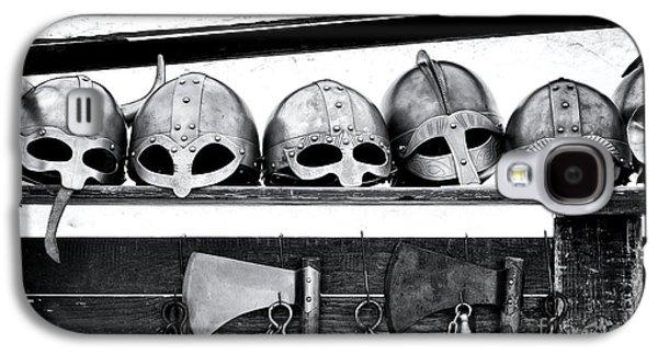 Medieval Helmets Galaxy S4 Case