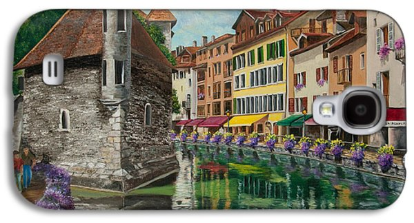 Medieval Jail In Annecy Galaxy S4 Case by Charlotte Blanchard