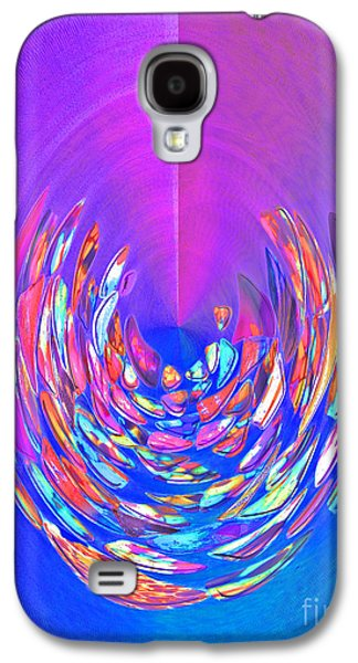 Galaxy S4 Case featuring the photograph Meditation In Blue by Nareeta Martin