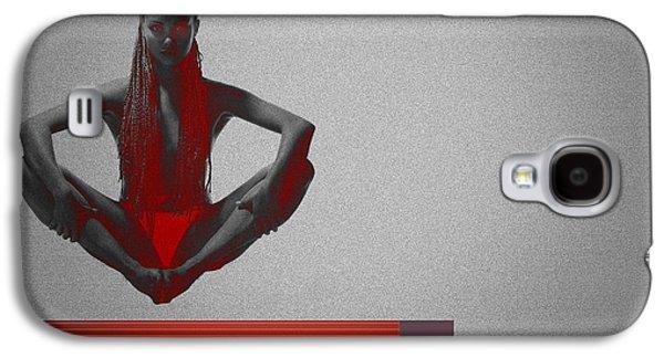 Meditation Galaxy S4 Case by Naxart Studio