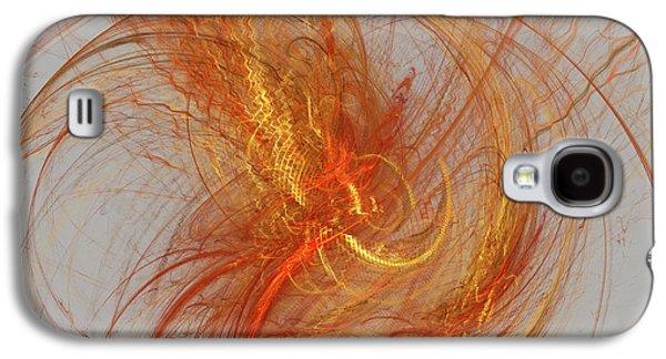 Medusa Bad Hair Day - Fractal Galaxy S4 Case