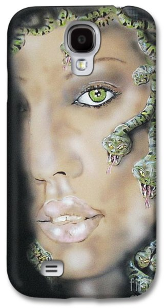 Medusa Galaxy S4 Case by John Sodja