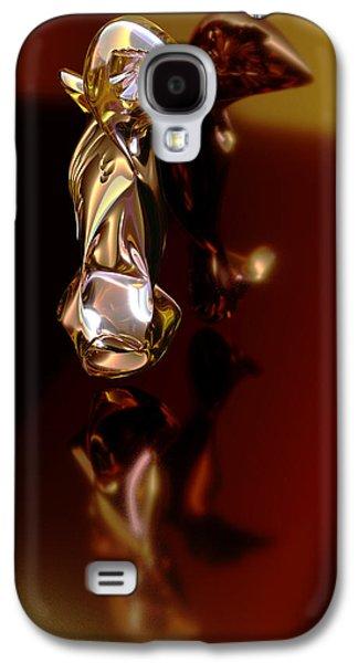 Meerkat Trophy Galaxy S4 Case by Chas Hauxby