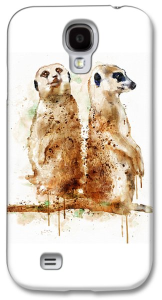Meerkats Galaxy S4 Case by Marian Voicu