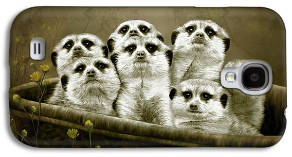 Meerkats Galaxy S4 Case by Thanh Thuy Nguyen