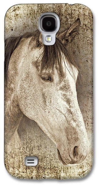 Portraits Photographs Galaxy S4 Cases - Meet The Andalucian Galaxy S4 Case by Meirion Matthias