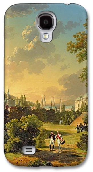 Meeting Between Napoleon I And Ferdinand IIi Galaxy S4 Case