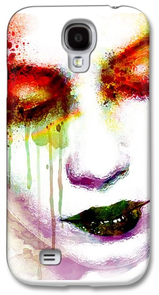 Melancholy In Watercolor Galaxy S4 Case
