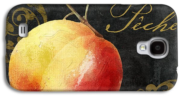 Melange Peach Peche Galaxy S4 Case by Mindy Sommers