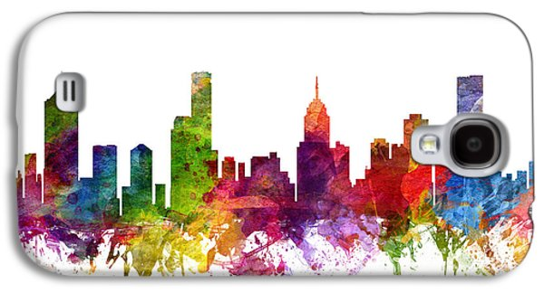 Melbourne Australia Cityscape 06 Galaxy S4 Case by Aged Pixel