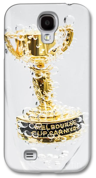 Melbourne Cup Winners Trophy Galaxy S4 Case by Jorgo Photography - Wall Art Gallery