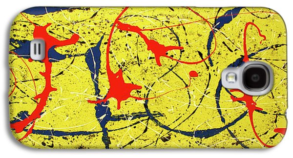 Mellow Yellow Galaxy S4 Case by International Artist Brent Litsey