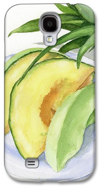 Melon Color Baby Galaxy S4 Case by Marsha Elliott
