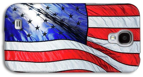Memorial Day Flag Galaxy S4 Case