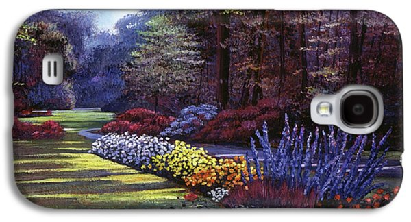 Memories Of Beacon Hill Park Galaxy S4 Case by David Lloyd Glover