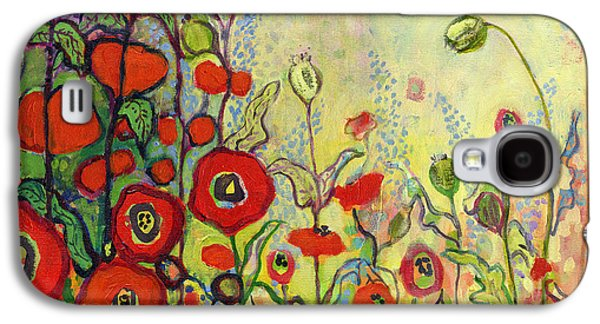 Impressionism Galaxy S4 Case - Memories Of Grandmother's Garden by Jennifer Lommers