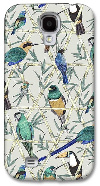 Menagerie Galaxy S4 Case by Jacqueline Colley