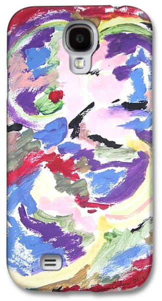 Mental Preoccupation Galaxy S4 Case by Esther Newman-Cohen