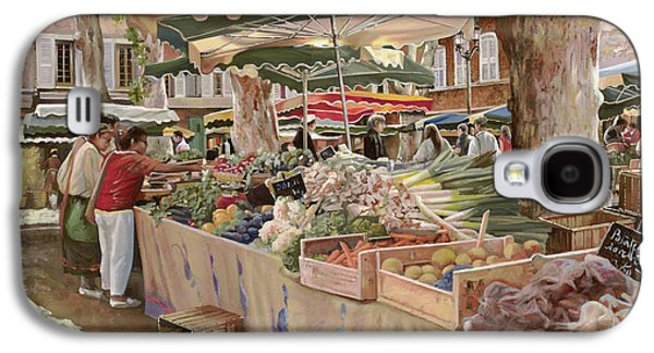 Mercato Provenzale Galaxy S4 Case by Guido Borelli