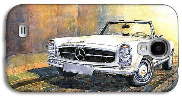 Car Galaxy S4 Case - Mercedes Benz W113 280 Sl Pagoda Front by Yuriy Shevchuk