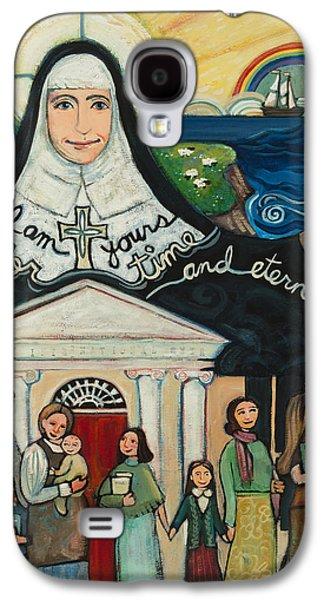 Mercy Foundress Catherine Mcauley Galaxy S4 Case by Jen Norton