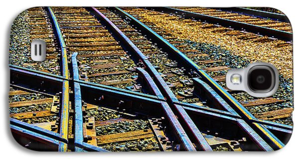 Merging Tracks Galaxy S4 Case